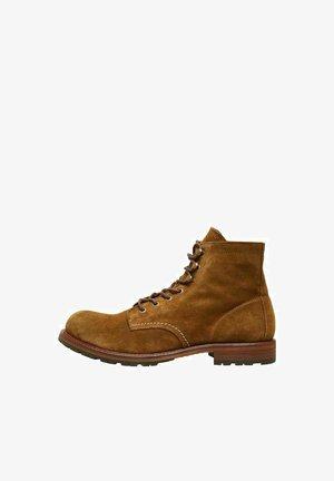 Veterboots - tobacco brown
