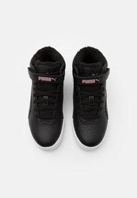 Puma - CARINA MID UNISEX - Baskets montantes - black/rose gold/white - 3
