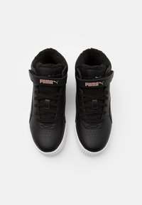 Puma - CARINA MID UNISEX - High-top trainers - black/rose gold/white - 3