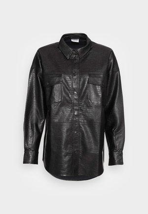 LISSY - Krátký kabát - black