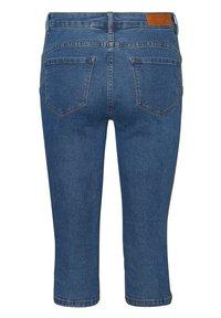Vero Moda - VMSEVEN  - Denim shorts - medium blue denim - 5
