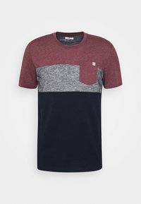 CUTLINE - T-shirt med print - dusty wildberry red