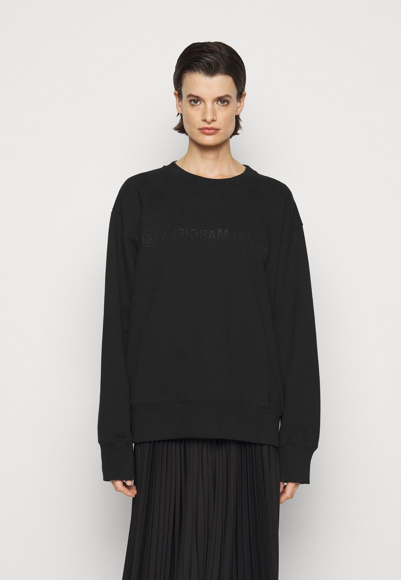 MM6 Maison Margiela - Sweatshirt - black