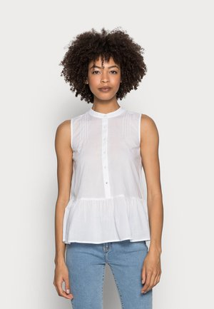 VOILE TOP - Blouse - white