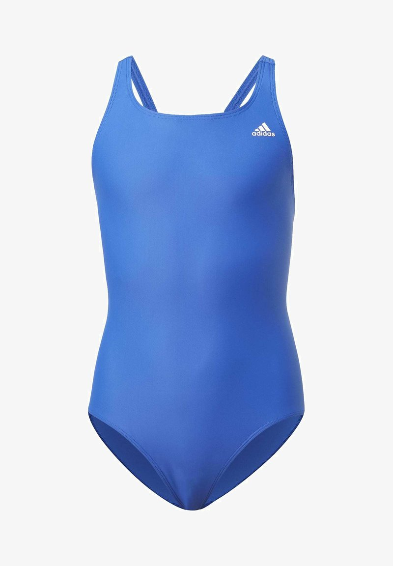 adidas Performance - SOLID FITNESS SWIMSUIT - Swimsuit - blue