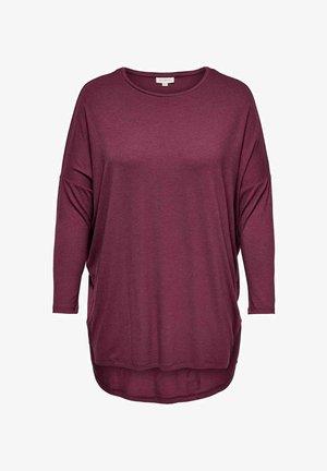CARCARMA LONG - Maglietta a manica lunga - zinfandel