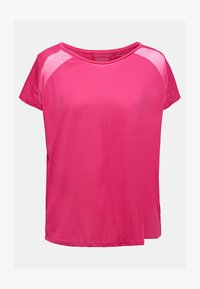 Esprit Sports - MIT NETZ-EINSATZ - Print T-shirt - pink fuchsia - 5