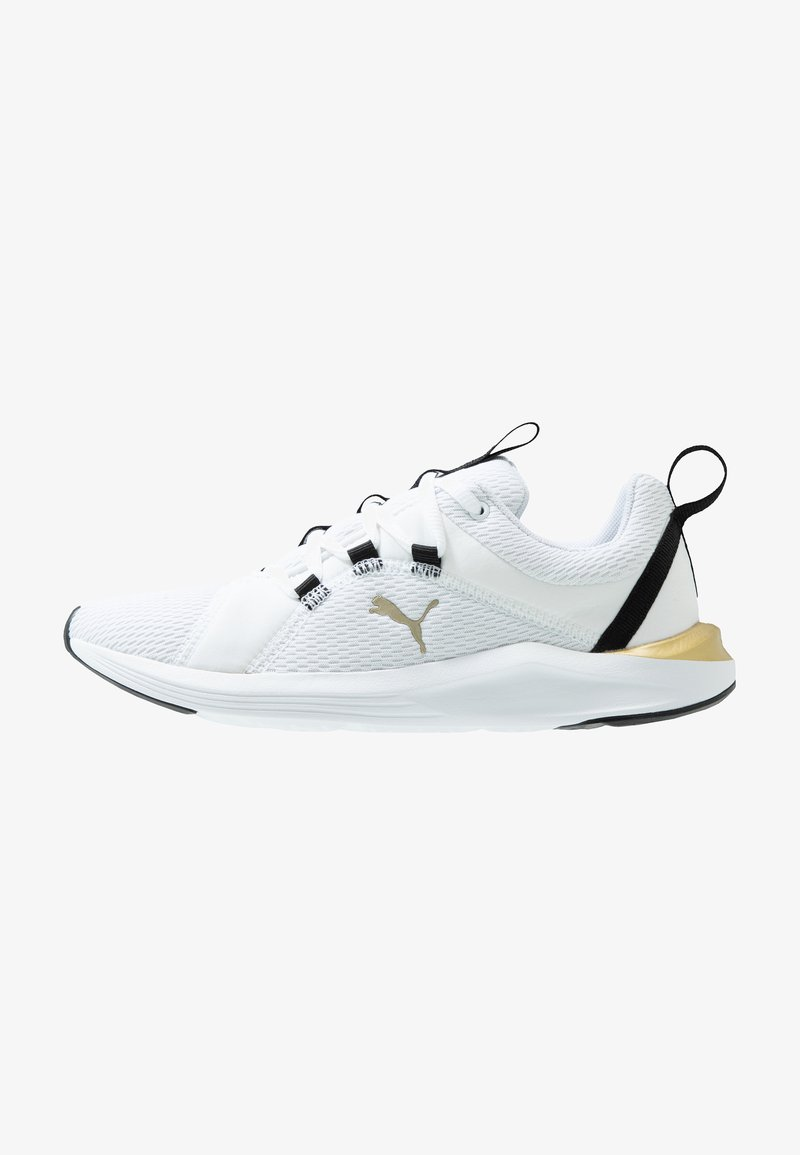 Puma - PROWL ALT ASYM - Sports shoes - white/black