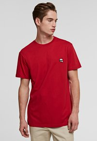 KARL LAGERFELD - IKONIK - Basic T-shirt - red - 0