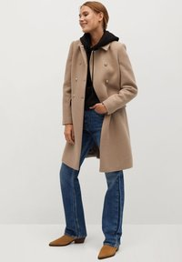 Mango - BOMBONS - Manteau classique - medium brown - 1