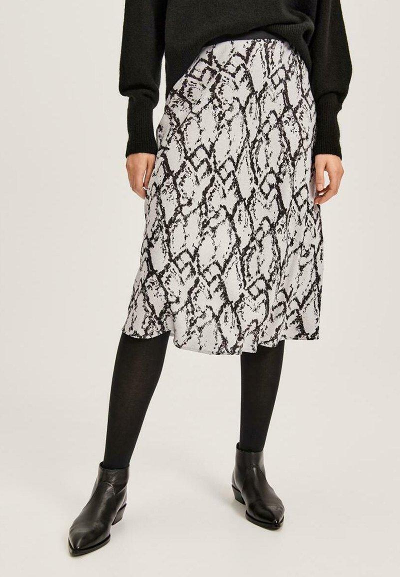Opus - RUMI - A-line skirt - grau