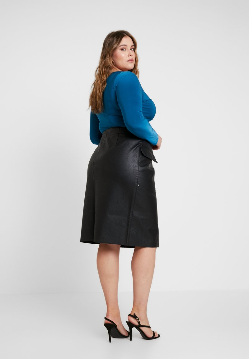 River Island Plus - Pencil skirt - black