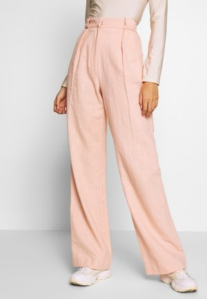 CLUB PANT - Tygbyxor - peach