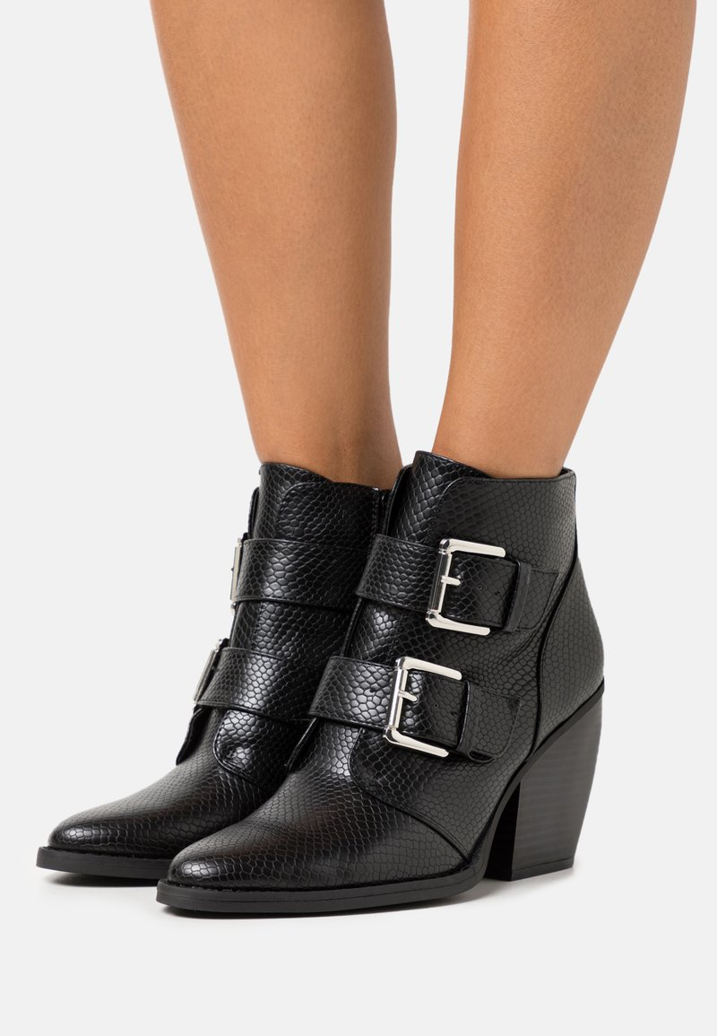 Madden Girl - CALISTA - High heeled ankle boots - black