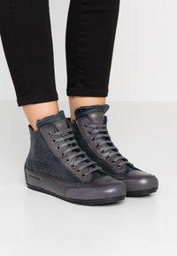 Candice Cooper - PLUS MONT - Sneakers high - antracite/tamponato antracite - 0