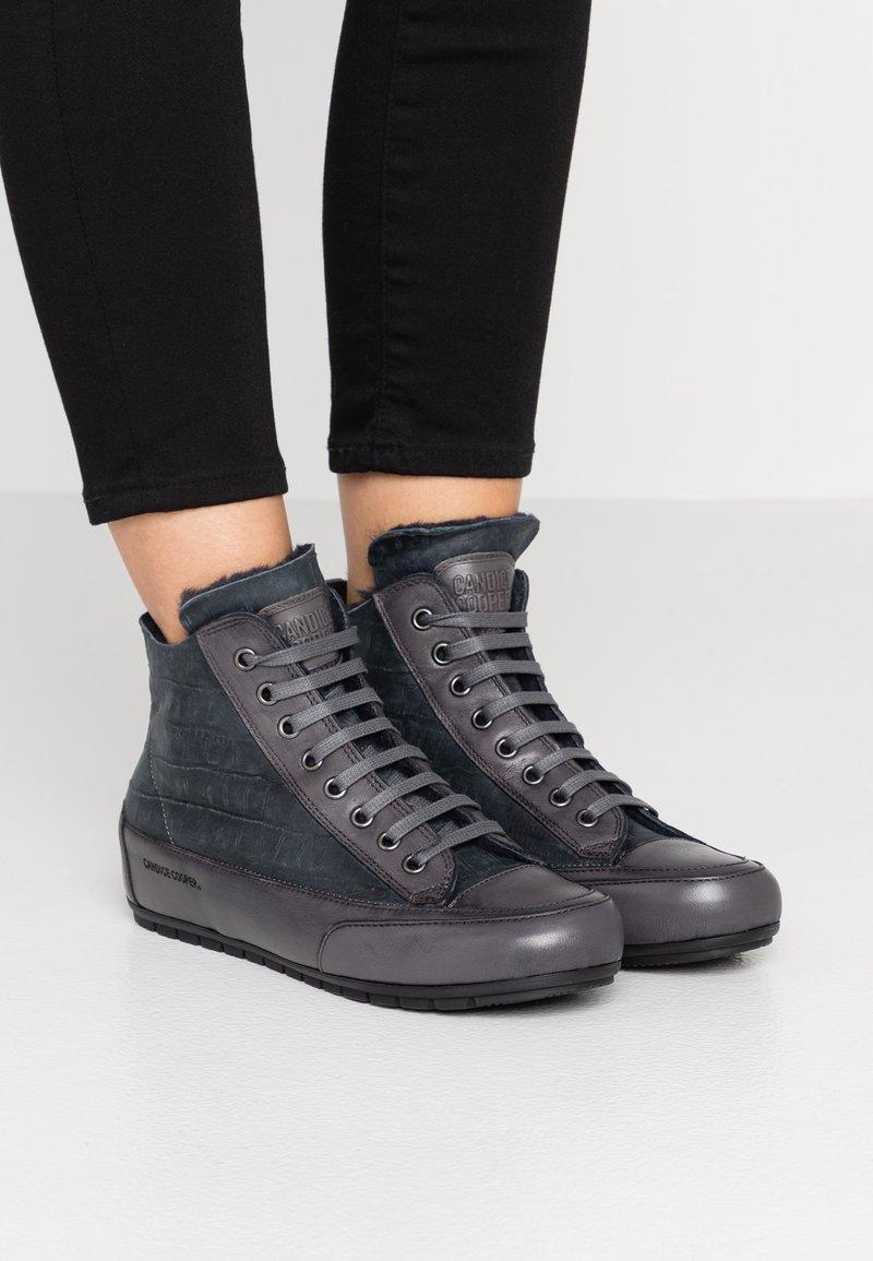 Candice Cooper - PLUS MONT - Sneakers high - antracite/tamponato antracite
