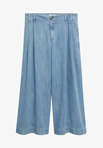 Flared Jeans - hellblau