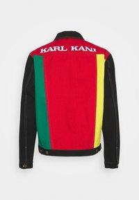 Karl Kani - BLOCK TRUCKER - Denim jacket - red - 1
