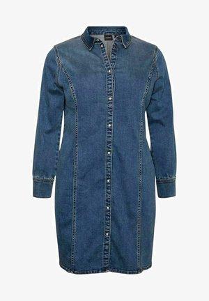 Denim dress - medium blue denim