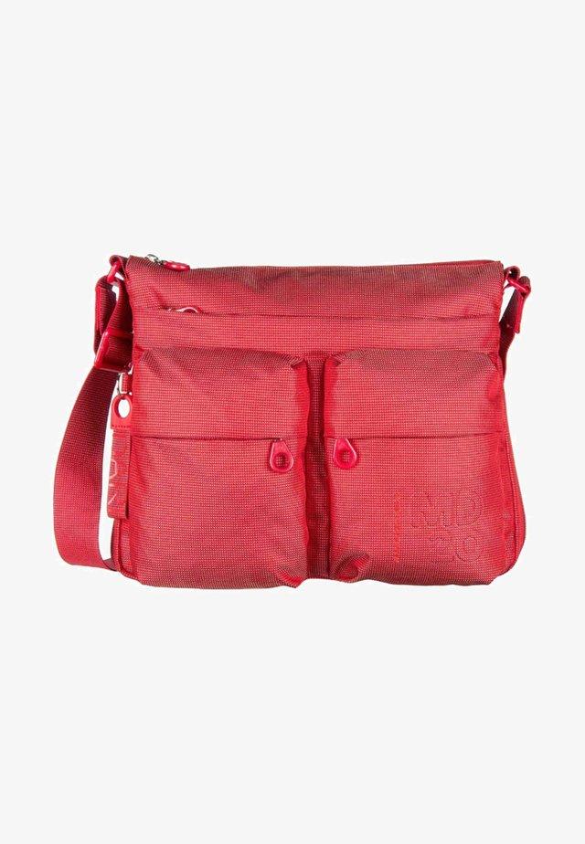 Across body bag - flame scarlet