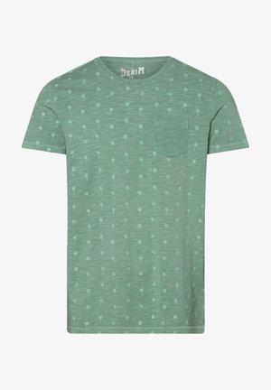 Print T-shirt - lind