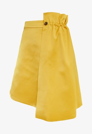 BASALT - Mini skirt - yellow