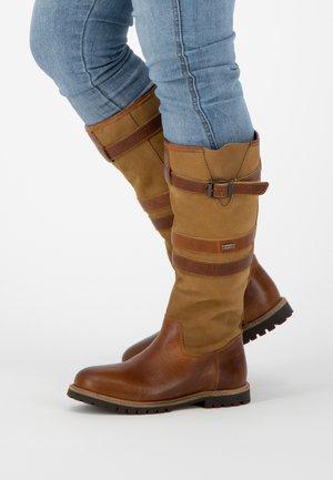 NORWAY - Boots - cognac