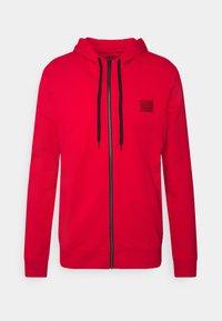 DAPLE - Zip-up sweatshirt - open pink