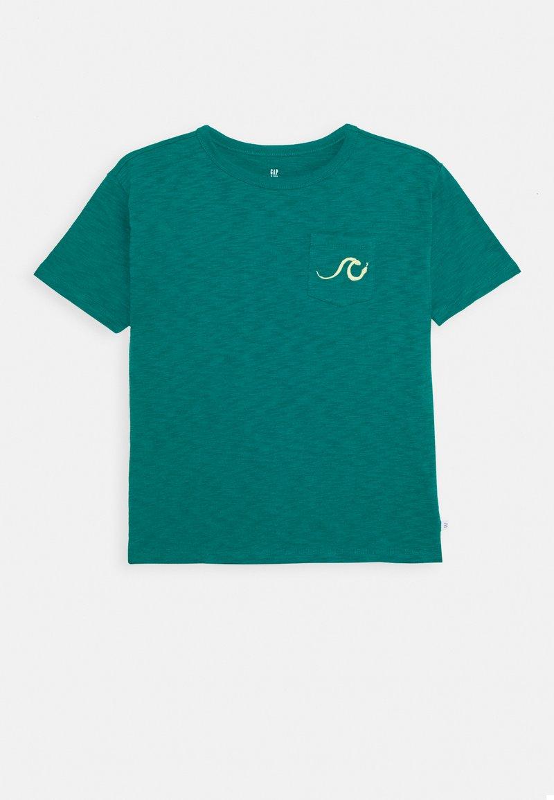 GAP - BOY - Print T-shirt - electric jade