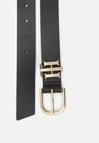 Tommy Hilfiger - LUX LOGO - Belt - black - 1