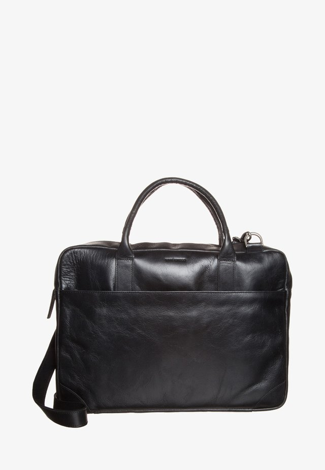 EXPLORER LAPTOP BAG SINGLE - Briefcase - black