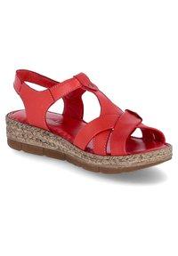 Andrea Conti - Walking sandals - rot - 5