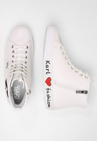 KARL LAGERFELD - SKOOL IKONIC LACE - High-top trainers - white - 3