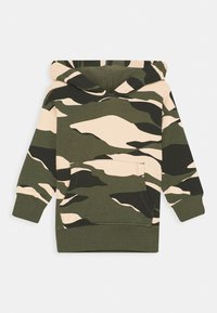 Lindex - MINI MONKEY CAMOUFLAGE - Sweatshirt - dark khaki green - 0