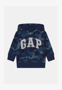 GAP - TODDLER BOY LOGO  - Bluza z kapturem - blue - 0