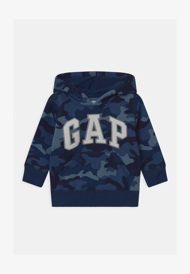GAP - TODDLER BOY LOGO  - Bluza z kapturem - blue