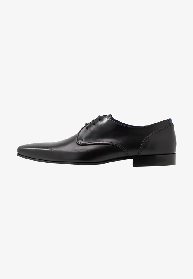 DOPING - Smart lace-ups - noir