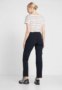 Mammut - RUNBOLD ZIP OFF WOMEN - Outdoor trousers - black - 2