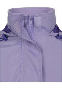 Urban Classics Curvy - LADIES LIGHT JACKET - Summer jacket - lavender/ultraviolet/white - 2