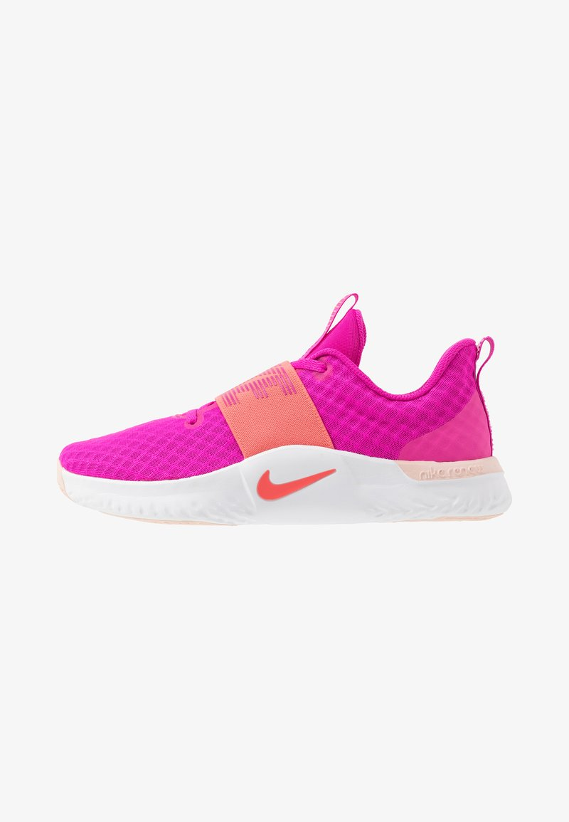 Nike Performance - RENEW IN-SEASON TR 9 - Sportschoenen - fire pink/magic ember/washed coral/white