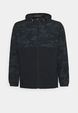 ACTIVE CAMO PRINT JACKET - Summer jacket - black