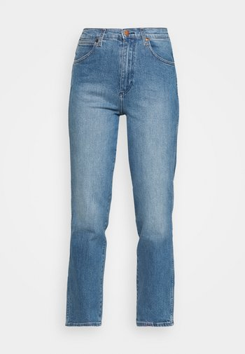 WILD WEST - Straight leg jeans - mid blue