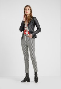 Pinko - STRAVEDERE GIACCA - Leather jacket - black - 1
