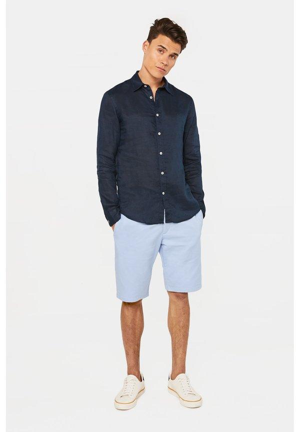 WE Fashion SLIM-FIT - Koszula - dark blue/granatowy Odzież Męska DMXE
