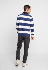 GANT - ORIGINAL BARSTRIPE HEAVY RUGGER - Polo shirt - eggshell - 2