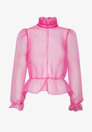 ORGANZA BLOUSE - Bluzka - pink