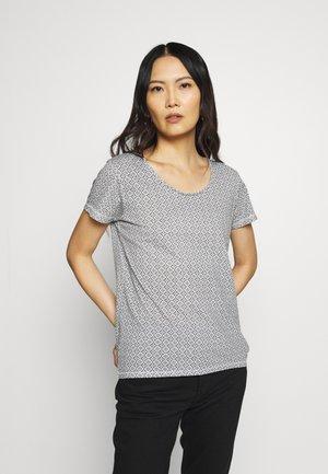 RUNDHALS - T-shirt con stampa - weiss original