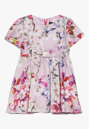 CINDY BOW DRESS - Cocktailkjole - multicolor