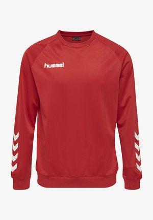 HMLPROMO - Sweatshirt - true red