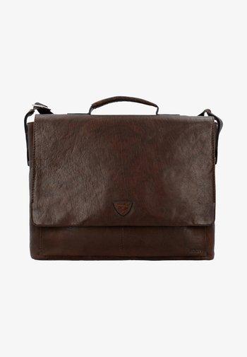BRENTA - Briefcase - dark brown